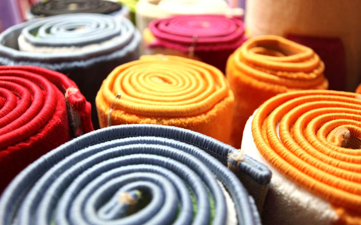 Multi Color Carpets Design for Home Decor Ideas
