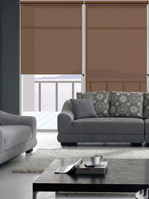 Roller Blinds In Modern Living Room Designs