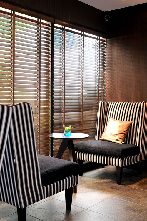 Window Blind for Lounge Decorating Ideas